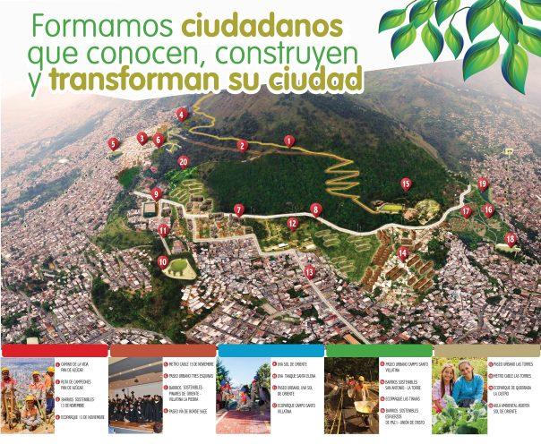Plan maestro cerro Pan de Azúcar - Jardín Circunvalar de Medellín