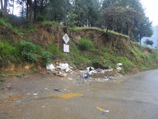 Ubicación donde se construirá un punto limpio cerca al Ecoparque Las Tinajas