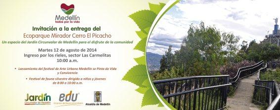 Acto de entrega Ecoparque Mirador cerro El Picacho
