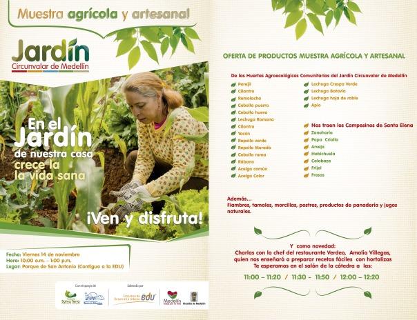 Muestra agrícola y artesanal JCM