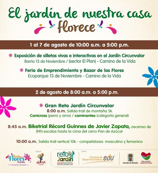 Agéndate con el Jardín Circunvalar de Medellín