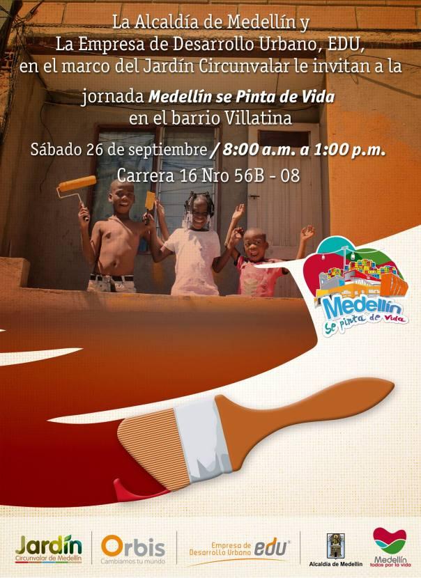 Medellín se Pinta de Vida Villatina