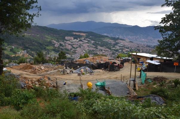 Construcción Ecoparque Villa Turbay